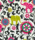 P/K Lifestyles Outdoor Fabric 54\u0022-Menagerie/Spectrum