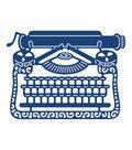Tattered Lace Metal Die-Vintage Typewriter