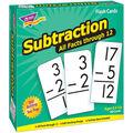 Trend Enterprises Inc. Subtraction 0-12 All Facts Flash Cards
