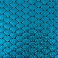 Yaya Han Collection Holographic Scales-Metallic Turquoise