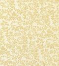 Keepsake Calico Cotton Fabric-Swirling Vines Cream