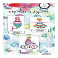 Art By Marlene 2.0 Chubby Chicks Cling Stamp-Meditate