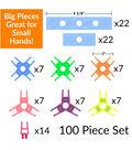 Brackitz Inventor 100 Piece Set