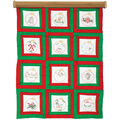 Jack Dempsey Stamped Quilt Blocks Ornaments White