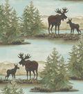 Anti-Pill Fleece Fabric -Wild Moose