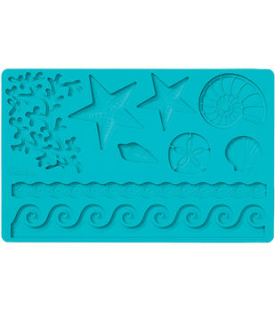 Wilton Fondant And Gum Paste Silicone Mold Sea Life