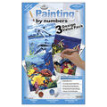 1-1/2\u0027\u0027x8-3/4\u0027\u0027 Paint By Number Value Packs-3PK/Sea Life