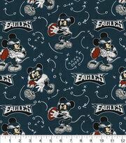 Philadelphia Eagles Cotton Fabric-Mickey Mouses, , hi-res