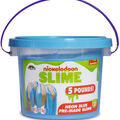 Nickelodeon 5lb Slime Bucket-Neon Blue