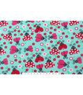 Blizzard Fleece Fabric 59\u0022-Patterned Ladybugs