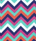 Snuggle Flannel Fabric 42\u0022-Fancy Chevron