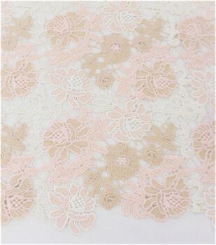 Casa Embellish Dahlia Fabric-Multi-Colored Lace