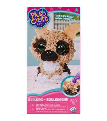 ORB Plush Craft Fabric Fun Kit-Bulldog