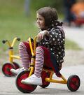Winther Viking Toddler Trike-Yellow & Red