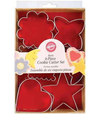 Wilton Metal Cookie Cutters-Basic Shapes