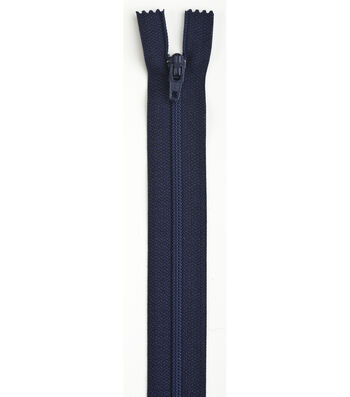 Coats & Clark 10'' Coil Separating Zipper-Navy