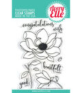 Avery Elle 9 pk Clear Stamps-Magnolia