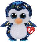 Ty Inc. Flippables Medium Sequin Payton Penguin