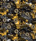 Boston Bruins Cotton Fabric -All Over