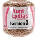 Aunt Lydia\u0027s 12 pk Fashion Crochet Threads Size 3-Copper Mist