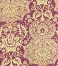 Home Decor 8\u0022x8\u0022 Fabric Swatch-Williamsburg Shalimar Resist Prune