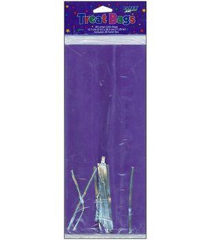 Cellophane Solid Color Treat Bags 20/Pkg