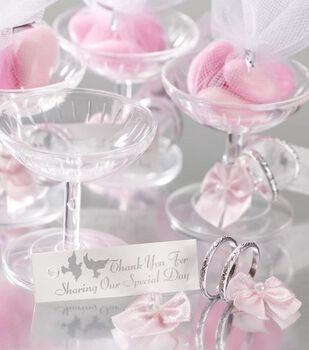 144pk Wedding Ring Favors-Silver