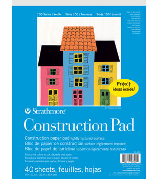 Strathmore Kids Construction Paper Pad
