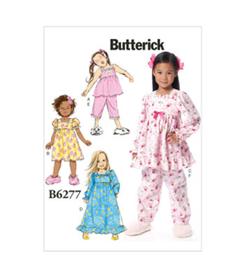 Butterick Child Sleep & Lounge-B6277