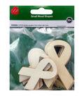 Wood Ribbons 8 Pcs