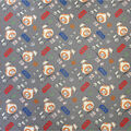 Star Wars Cotton Fabric-Bb-8 And D-O