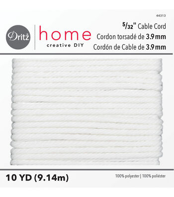 "Dritz Home 10yd 5/32"" Polyester Cable Cord"