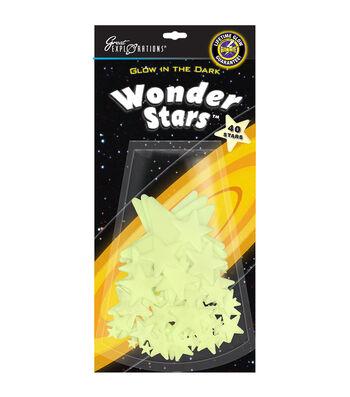 University Games Glow In The Dark Pack-Wonder Stars 40/Pkg