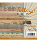 Find It Trading Yvonne Creations Paper Pack 6\u0022X6\u0022 23/Pkg-Vintage Objects