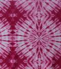 Anti-Pill Fleece Fabric 59\u0022-Beetroot Tie Dye