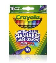 Crayola Growing Kids Large Crayons 16/Pkg Large, , hi-res