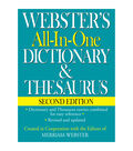 Webster's All-In-One Dictionary & Thesaurus, Second Edition, Pack of 6