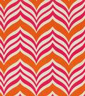 Home Decor 8\u0022x8\u0022 Fabric Swatch-Pkaufmann Ripple Effect Tiger Lily
