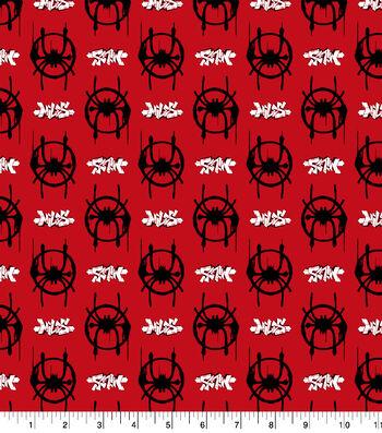 Marvel Spider-Man Cotton Fabric-Spiderverse Logo