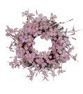 Fresh Picked Spring 22.5\u0027\u0027 Dogwood Blossom Wreath-Pink