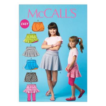 McCall's Girls Pants-M6918