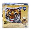 Vervaco Cushion Latch Hook Kit 16\u0027\u0027X16\u0027\u0027-Tiger