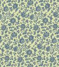 Home Decor 8\u0022x8\u0022 Fabric Swatch-Covington Courtney 15 Chambray