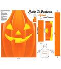 Halloween Cotton Panel 36\u0022-Jack O Lantern