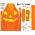Halloween Cotton Panel-Jack-o\u0027-lantern