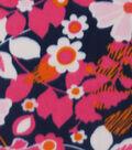 Blizzard Fleece Fabric 59\u0022-Bright Floral