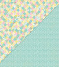 Beginnings Double-Sided Cardstock 12\u0022X12\u0022-Diamond Quilt/Damask