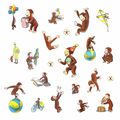 York Wallcoverings Wall Decals-Curious George Storybook