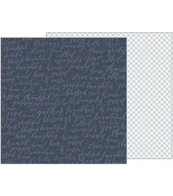 """Jen Hadfield Heart Of Home Cardstock 12""""X12""""-Family Matters"""