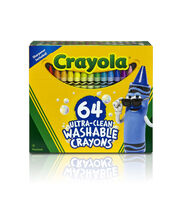 Crayola Ultra Clean Washable Crayons 64/Pkg, , hi-res
